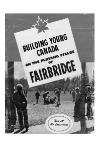 A cover of a Fairbridge Society Annual Report. Circa late 1940s