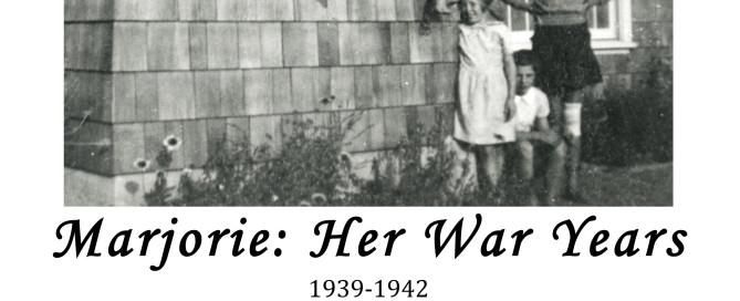 Marjorie War Years Front Cover